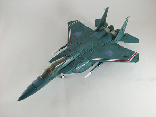 Transformers Starscream (Masterpiece) - modo alterno