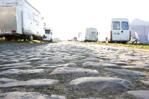 The cobbles up close and personal. Photo: tetedelacourse