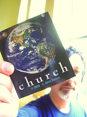 Alan Dyson and His Church Stickers