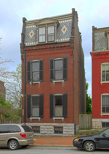 Soulard neighborhood, in Saint Louis, Missouri, USA - building 2