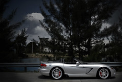 Dodge Viper SRT-10 on 360 Forged Split Seven (360 Forged) Tags: trees sky hot sexy pine clouds silver nikon florida miami 10 wheels sigma 360 seven d200 split viper f28 forged concave srt hre 2470mm vossen hrewheels adv1 vossenwheels 360forged advanceone deepconcave adv1wheels adv05