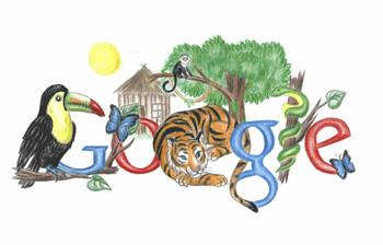 rebecca - google doodle finalist
