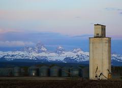 (AshtonChris) Tags: snow mountains rural spring idaho tetons easternidaho