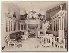 Interior of house of Lawrence Alma-Tadema (Smithsonian Institution) Tags: house woodwork artwork furniture interior decor furnishing smithsonianinstitution crownmolding panelling lawrencealmatadema archivesofamericanart mid19thcentury