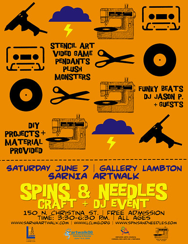 Spins at Gallery Lambert poster