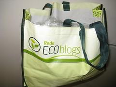Sacola Retornável da Rede Ecoblogs