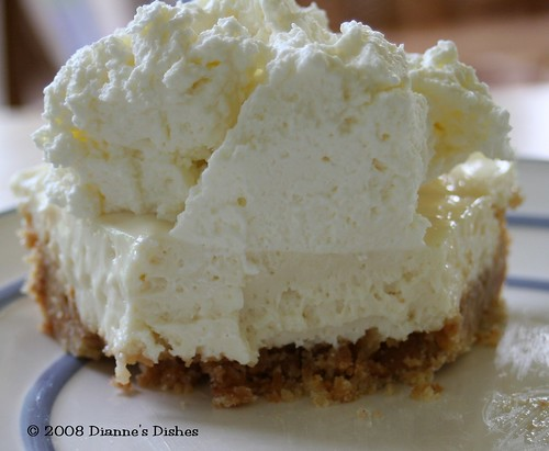 No Bake Key Lime Cheesecake: Jumping In