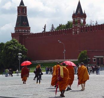 Папарацци у стен Кремля. Автор: Os-a