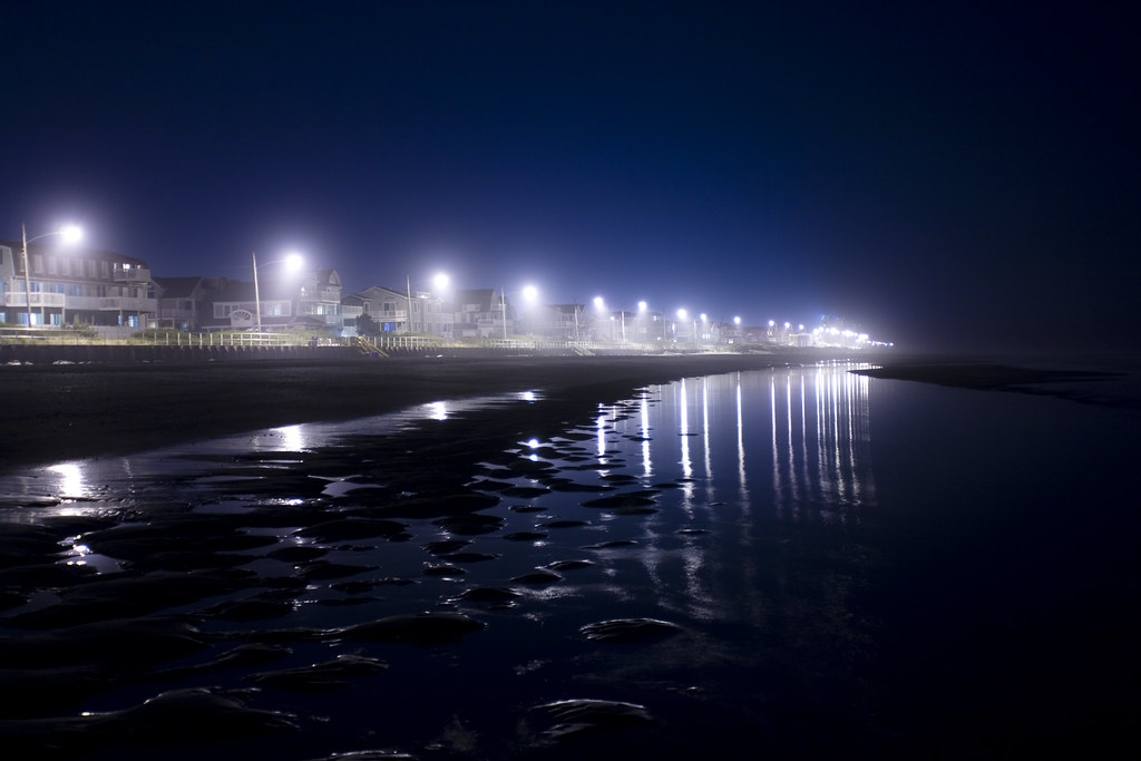 Sea Isle At Night