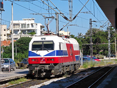Hellasprinter 120-015 (Dimitris G.) Tags: station train siemens rail thessaloniki ose    hellasprinter
