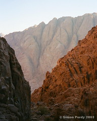 Sinai, Egypt (Simon Purdy) Tags: africa mountain rock sunrise tencommandments desert northafrica redsea mountsinai egypt middleeast canyon christian moses mtsin