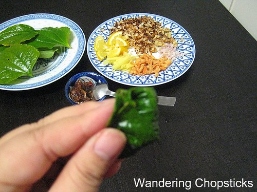 Mieng Kham Thai Leaf-Wrapped Snack 3