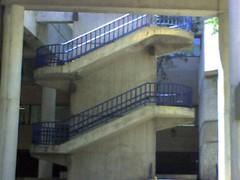 External staircase - Creighton University medical center
