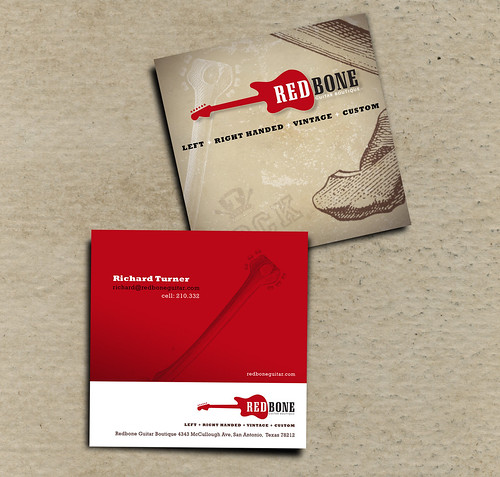 Redbone Guitar Boutique Cards