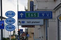 Ystad signs (Seagreen Digital) Tags: skne sweden ystad