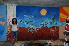 DSC_0824 (Kurt Christensen) Tags: art beach painting mural surf thrust gilgobeach gilgo