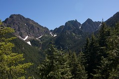 Nice views along Marmot Pass trail Photo