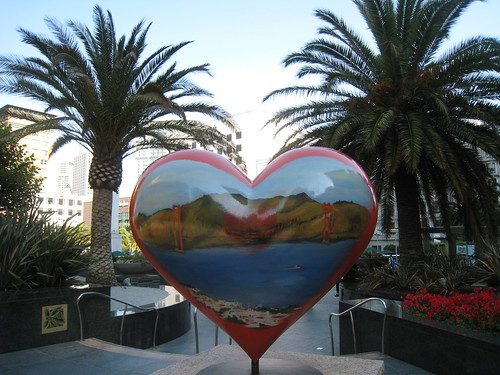 Hearts in SF - Union Square