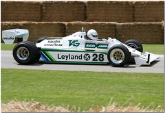 Williams Ford FW07 F1 Goodwood Festival of Speed 2008 (Antsphoto) Tags: uk classic ford car festival speed vintage sussex williams britain lola f1 racing historic grandprix porsche wrc landrover 2008 canoneos350d lemans goodwood gp motorsport cosworth motoracing goodwoodfestivalofspeed goodwoodhouse williamscosworth fw07 lordmarch saudiawilliams williamsfordcosworth