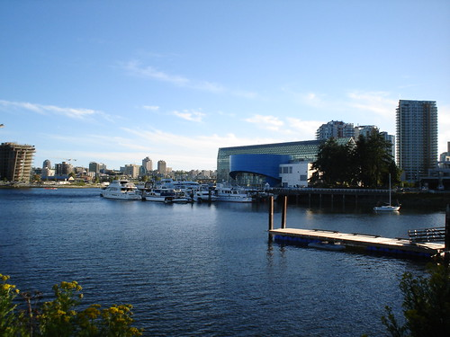 False Creek (the Yaletown side)