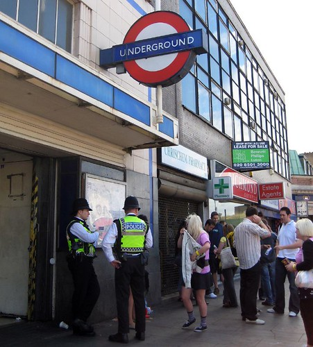 45 - Mile End London Underground Station - Lovebox start