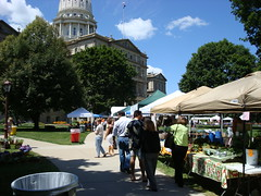 """Buy Local, Buy Fresh — Select Michigan"" Farmers' Market"