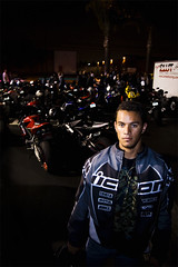 This is my scene. (Ericson Calderon) Tags: portrait graffiti bikes icon sportbike cbr600rr bikenight craigfua