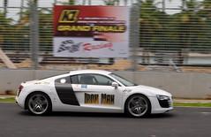 Audi R8 on Singapore F1 GP track