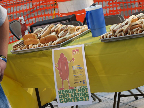 veggie dog contest