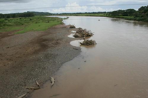 El río Tárcoles, en la provincia de Puntarenas