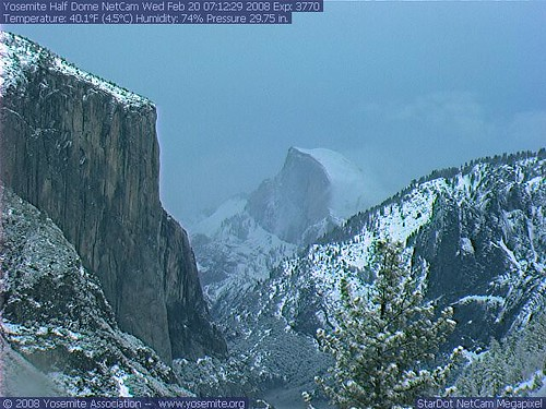 Yosemite Webcams by Steve Spray From Steve Spray