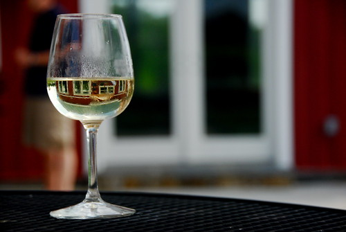 White Wine Reflection