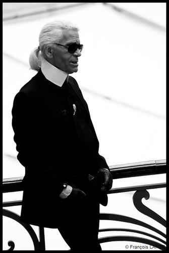 Karl Lagerfeld by François Lafite.