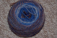 blue jeans and leather shoes yarn