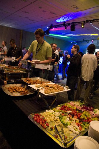 Google IO food!