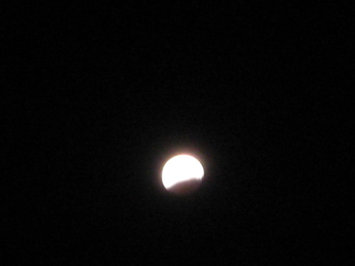 Lunar eclipse on the night of Nisf Sha'ban