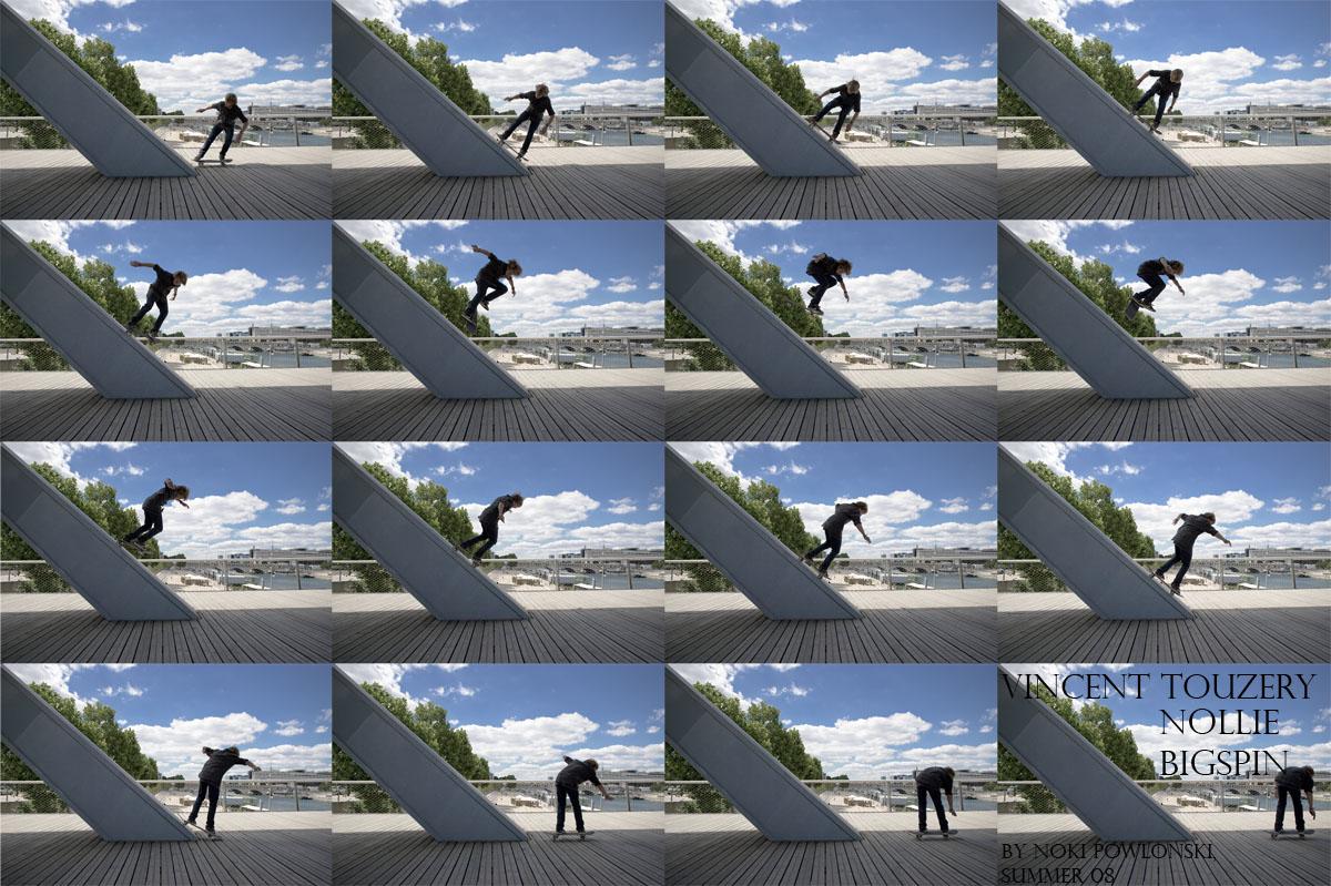 Vincent Touzery - nollie bigspin