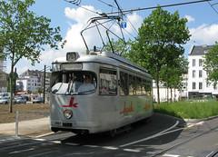 Rheinbahn 2967 [Dsseldorf tram] (Howard_Pulling) Tags: germany deutschland tram german dusseldorf trams strassenbahn duewag gt8 kluh duwag hpulling howardpulling dusseldorfstrassenbahn