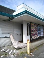 McMattress (SqueakyMarmot) Tags: abandoned vancouver garbage mcdonalds vacant rubbish burnaby suburb mattress