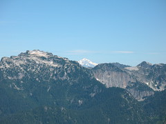 Glacier Peak from Red Mtn.