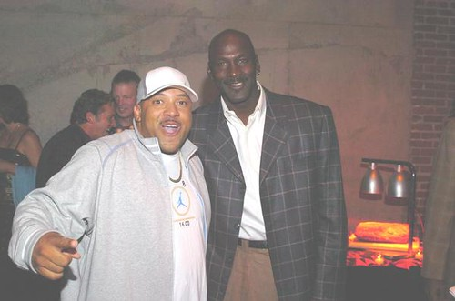 DJ O.G.ONE and Michael Jordan