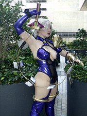 Ivy Valentine - Side (BelleChere) Tags: costume cosplay ivy soulcalibur dc08 dragoncon2008 ivyvalentine