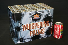 Epic Fireworks  - Whispering Palms 40 Shot Barrage (EpicFireworks) Tags: whispering fireworks coke firework palm epic paramount cokecan