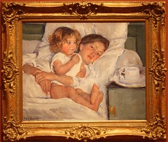 Mary Cassatt at the Huntington Library (BillGraf) Tags: ca artist huntingtonlibrary painter impressionism xsi breakfastinbed cassatt marycassatt fortogdencom sanmarinoca canonxsi canon450xsi huntingtonlibrarygardenssanmarino