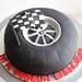F1 Wheel Cake