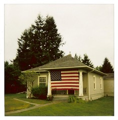I love this house - part 1 ~ Sedro-Woolley, WA ~ September 17th, 2008 (brettbigb) Tags: county usa house color home wednesday polaroid us washington yes flag lawn wed americanflag september wash 600 porch co wa 17 skagit polaroids 2008 sept polaroid600 17th 08 regular wn polaroidone one600 woolley sedrowoolley sedro polaroidone600 savepolaroid savepolaroids sedrowoolleyisatimemachine