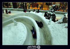 speed.. (A.Alwosaibie) Tags: light snow ice speed photo nikon dubai skiing shot market uae spot move 1855mm complex vr  d60            anawesomeshot
