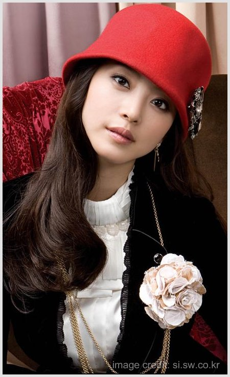 Han Ye Seul Korean SI Fashion Wear