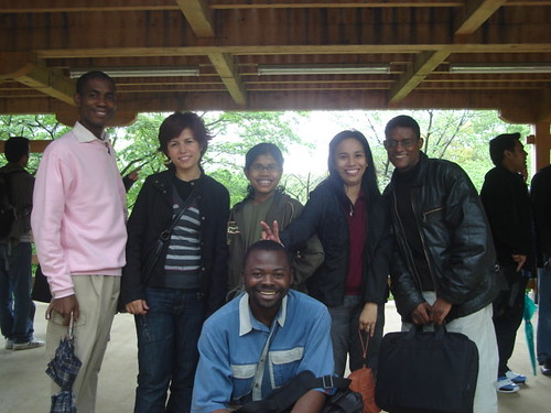 Clement (Malawi),Pious (Nigeria),Berrin (Turkey), Sangeeta (Bangladesh), Jean (Phillipines), Fazil (Ethiopia) and in the distance is Irvan Mhd (Indonesia)