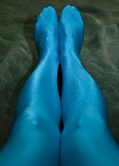 Blue Legs One (AnonymousArt) Tags: blue selfportrait art feet me lines fetish self canon costume legs artistic body smooth shapes surreal encased tights stretch suit human fabric covered material form coverage shiney tight exploration nylon spandex lycra catsuit skintight enclosed 30d encasement stretchy unitard fullbody formfitting zentai secondskin anonymousart elastane